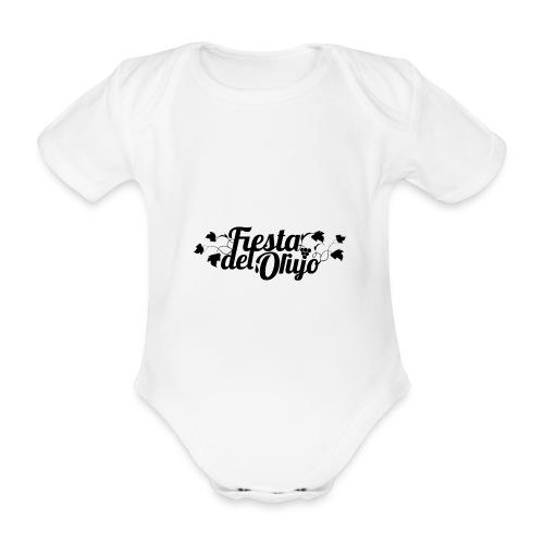 Fiesta del Orujo - Body orgánico de maga corta para bebé