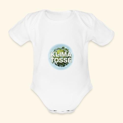 Klimatosse Klode - Kortærmet babybody, økologisk bomuld