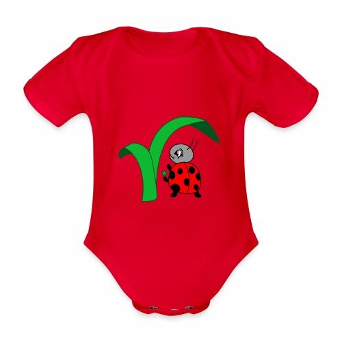 Marienkäfer - Baby Bio-Kurzarm-Body