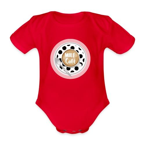 Milfcafé - MILF Logo Instagram Blogger Musthave - Baby Bio-Kurzarm-Body
