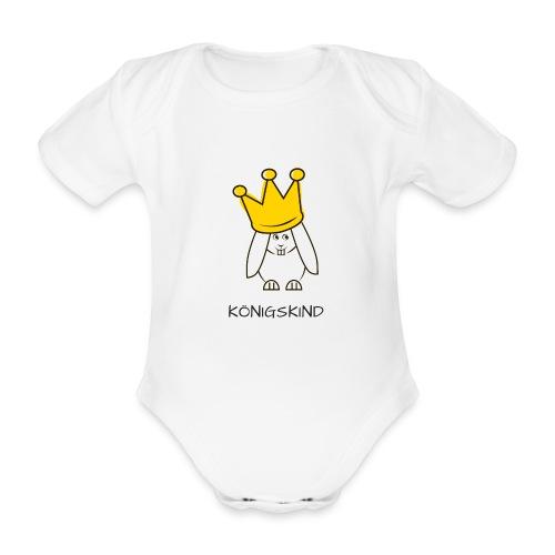 hipps koenigskind - Baby Bio-Kurzarm-Body