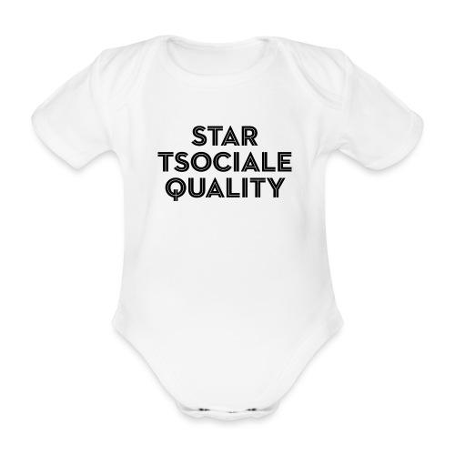 Start Social Equality - Organic Short-sleeved Baby Bodysuit