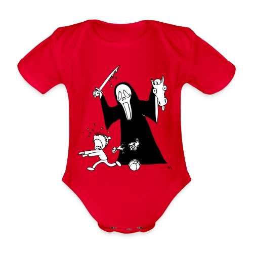 halloween t-skjorte - Økologisk kortermet baby-body