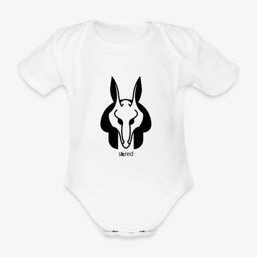 Anubi Soggetto1 - Body ecologico per neonato a manica corta