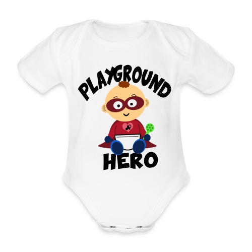 Playground Hero - Baby Bio-Kurzarm-Body