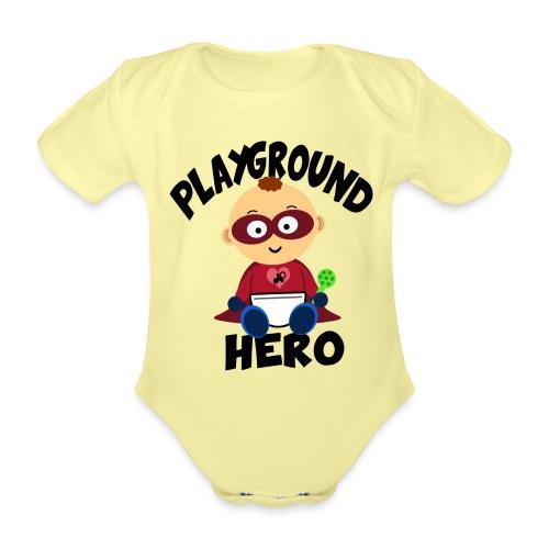 Playground Hero - Baby Bio-Kurzarm-Body