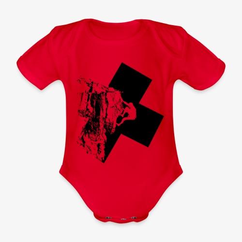 Rock climbing - Organic Short-sleeved Baby Bodysuit