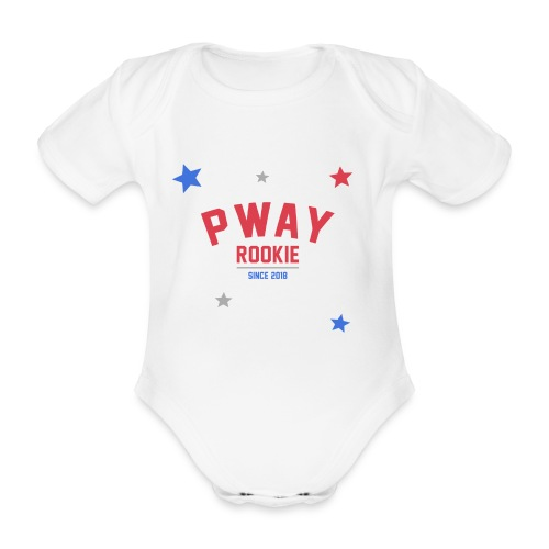 P-Way Rookie - Baby Bio-Kurzarm-Body