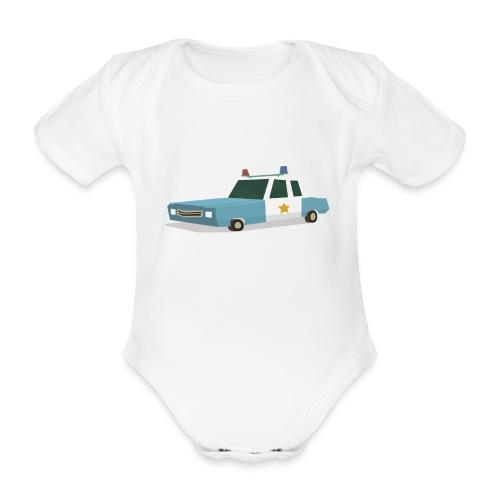 Calling all units - Organic Short-sleeved Baby Bodysuit