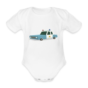 Calling all units - Organic Short-sleeved Baby Bodysuit