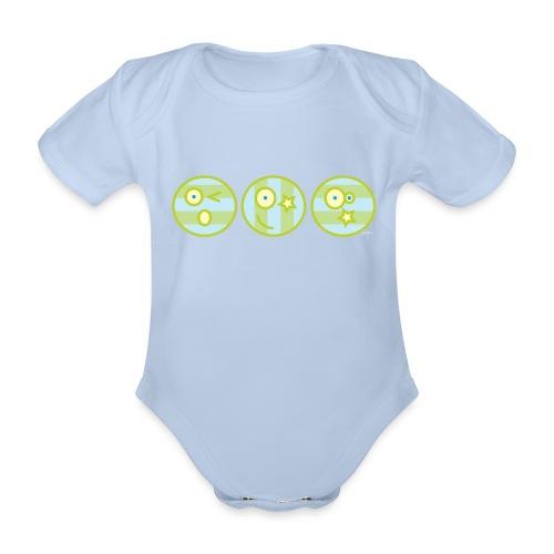 Smile multi4 - Baby bio-rompertje met korte mouwen