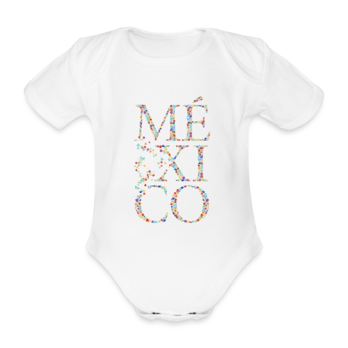 México - Baby Bio-Kurzarm-Body