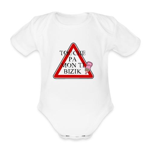 PANNEAU BIZIC 974 - Body bébé bio manches courtes