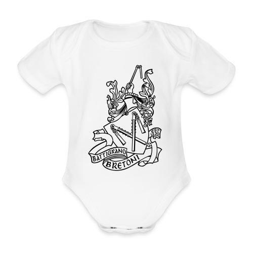 BATTIGRANO - Body ecologico per neonato a manica corta
