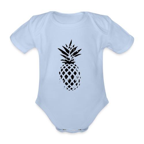 ananas - Body Bébé bio manches courtes