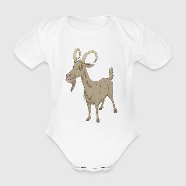 get get - Ekologisk kortärmad babybody