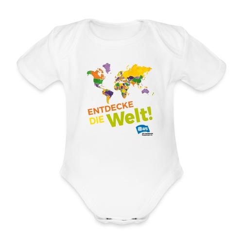 Entdecke die Vielfalt der Welt mit AFS - Baby Bio-Kurzarm-Body