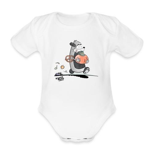 Oktoberfest - Økologisk kortermet baby-body