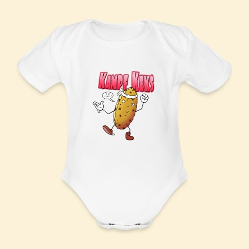 Kampf Keks - Baby Bio-Kurzarm-Body