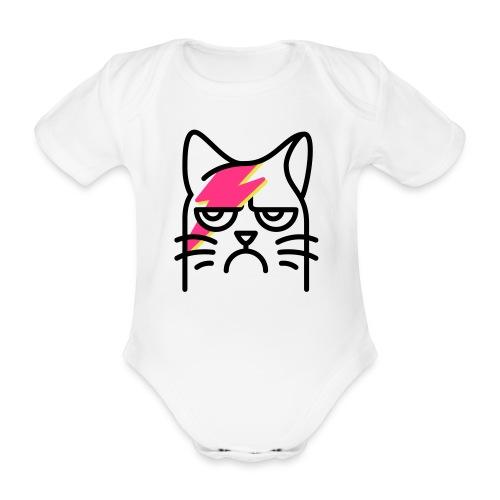 ODT Meowie - Baby Bio-Kurzarm-Body