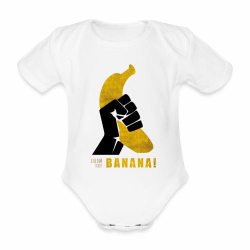 Join the Banana - Body Bébé bio manches courtes