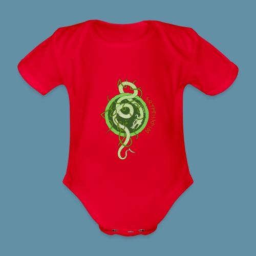 Jormungand logo png - Body ecologico per neonato a manica corta
