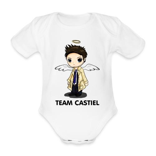 Team Castiel (light) - Organic Short-sleeved Baby Bodysuit