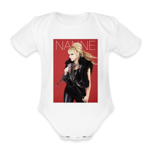 nanne gronvall stor - Ekologisk kortärmad babybody