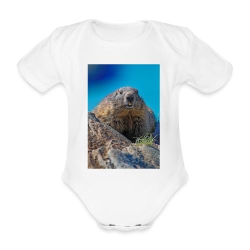 Das Murmeltier - Baby Bio-Kurzarm-Body