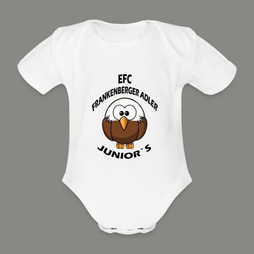 Junior Set in Schwarz - Baby Bio-Kurzarm-Body