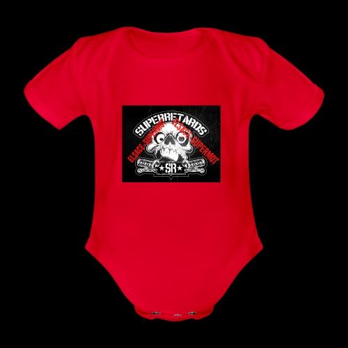 elsace-supermot - Body Bébé bio manches courtes