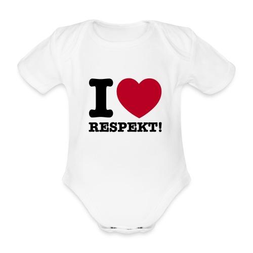 I Love Respekt - Baby Bio-Kurzarm-Body