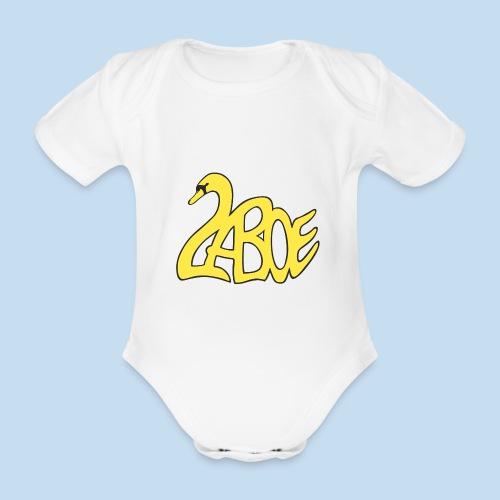 Laboe Schwan gelb - Baby Bio-Kurzarm-Body