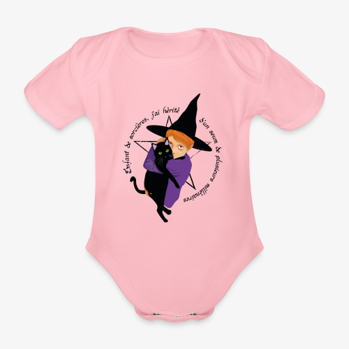 Enfant de sorcières - Body Bébé bio manches courtes