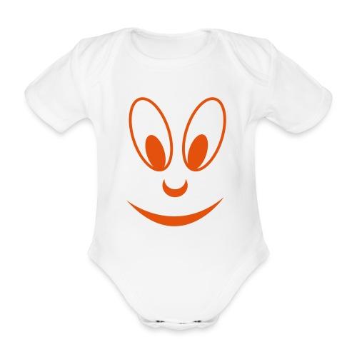 face - Baby Bio-Kurzarm-Body