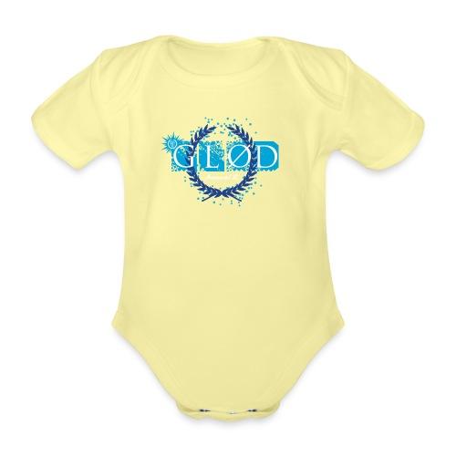 Logo_glod - Økologisk kortermet baby-body