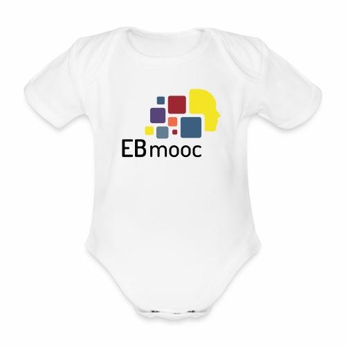 EBmooc Logo - Baby Bio-Kurzarm-Body