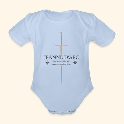 Jeanne d arc dark - Baby Bio-Kurzarm-Body