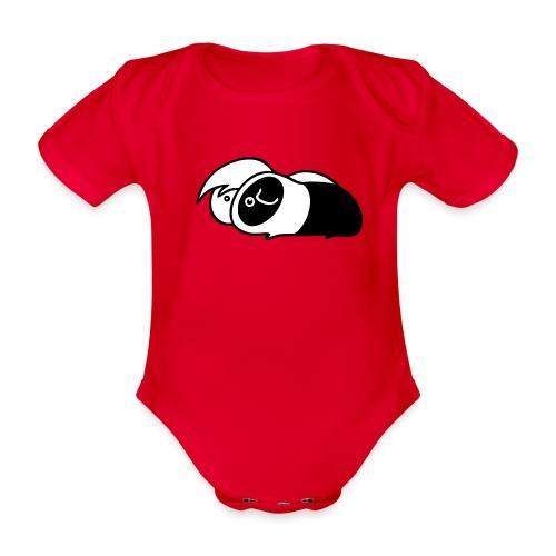 smylogobanotext - Vauvan lyhythihainen luomu-body