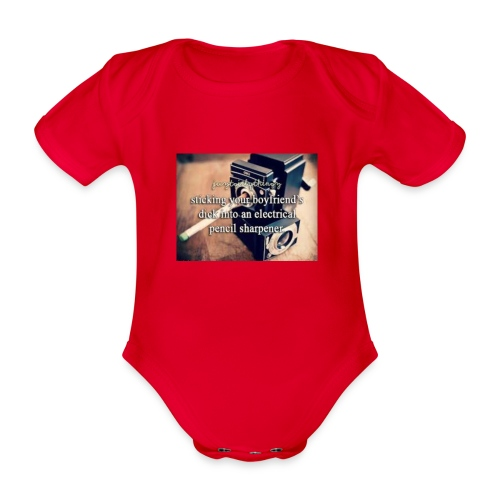 45492e8dfe105cfa0a4a7d1596676fb3 justgirlythings - Kortærmet babybody, økologisk bomuld