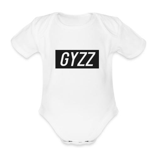 Gyzz - Kortærmet babybody, økologisk bomuld