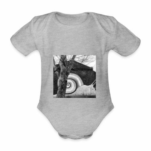 Lazy Snail - Organic Short-sleeved Baby Bodysuit