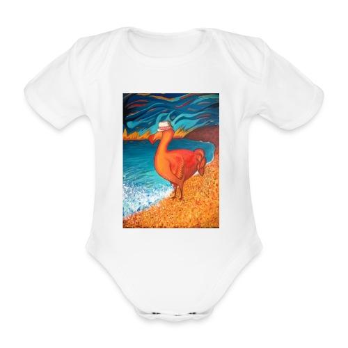Dodo chapeauté - Body bébé bio manches courtes