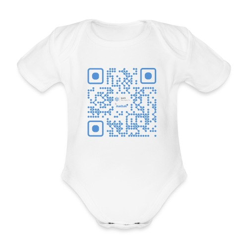 QR Maidsafe.net - Organic Short-sleeved Baby Bodysuit
