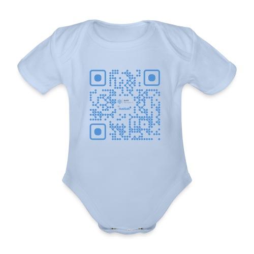 QR Maidsafe.net - Organic Short-sleeved Baby Bodysuit