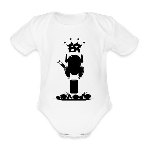Bella maglietta per le donne 2 - Body ecologico per neonato a manica corta