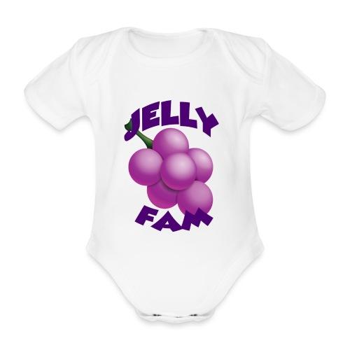 JellySquad - Kortærmet babybody, økologisk bomuld