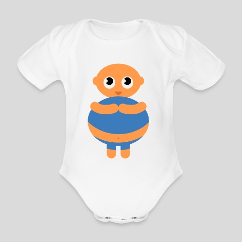 Das dicke Baby - Baby Bio-Kurzarm-Body