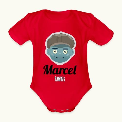 Marcel (Le monde des Pawns) - Body Bébé bio manches courtes