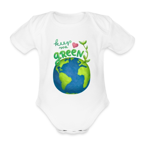 Keep Me Green - Baby Bio-Kurzarm-Body